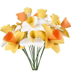 Springtime Paper Daffodil Bouquet