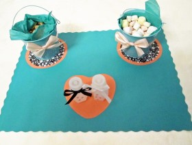 Wedding Placemats for Showcasing Party Favors