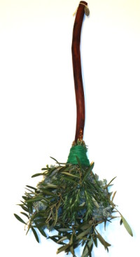 Magical Witchcraft Energy Cleansing Broom