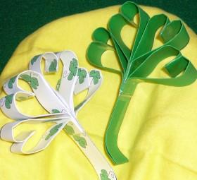 St. Patrick's Day – Shamrock Craft