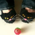 Cat Ballet Shoes