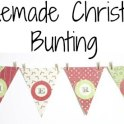 homemade-christmas-bunting