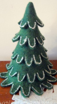 Felt Christmas Stacking Tree