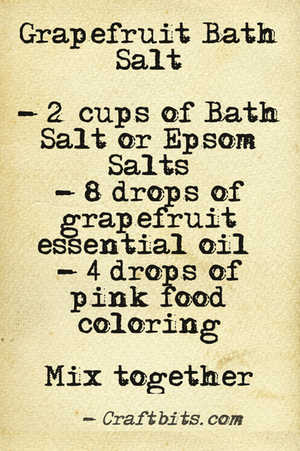Bath Salt – Grapefruit