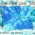Tie Dye Pillow Case