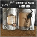 Harry Potter Ministry Of Magic Guest Book: Halloween DIY