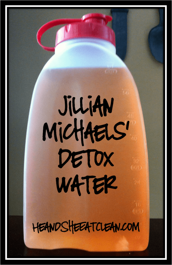 how to make your own detox drink