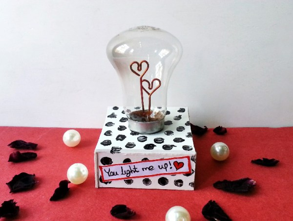 heart light bulb