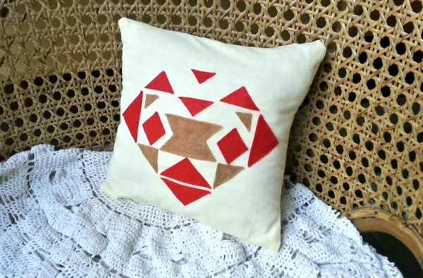 DIY Aztec Pillow Cover