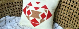 DIY Aztec Pillow Cover