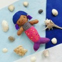 How to Make a Felt Mermaid Doll