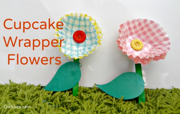 cupcake-wrappers-kids-craft-mother'sday