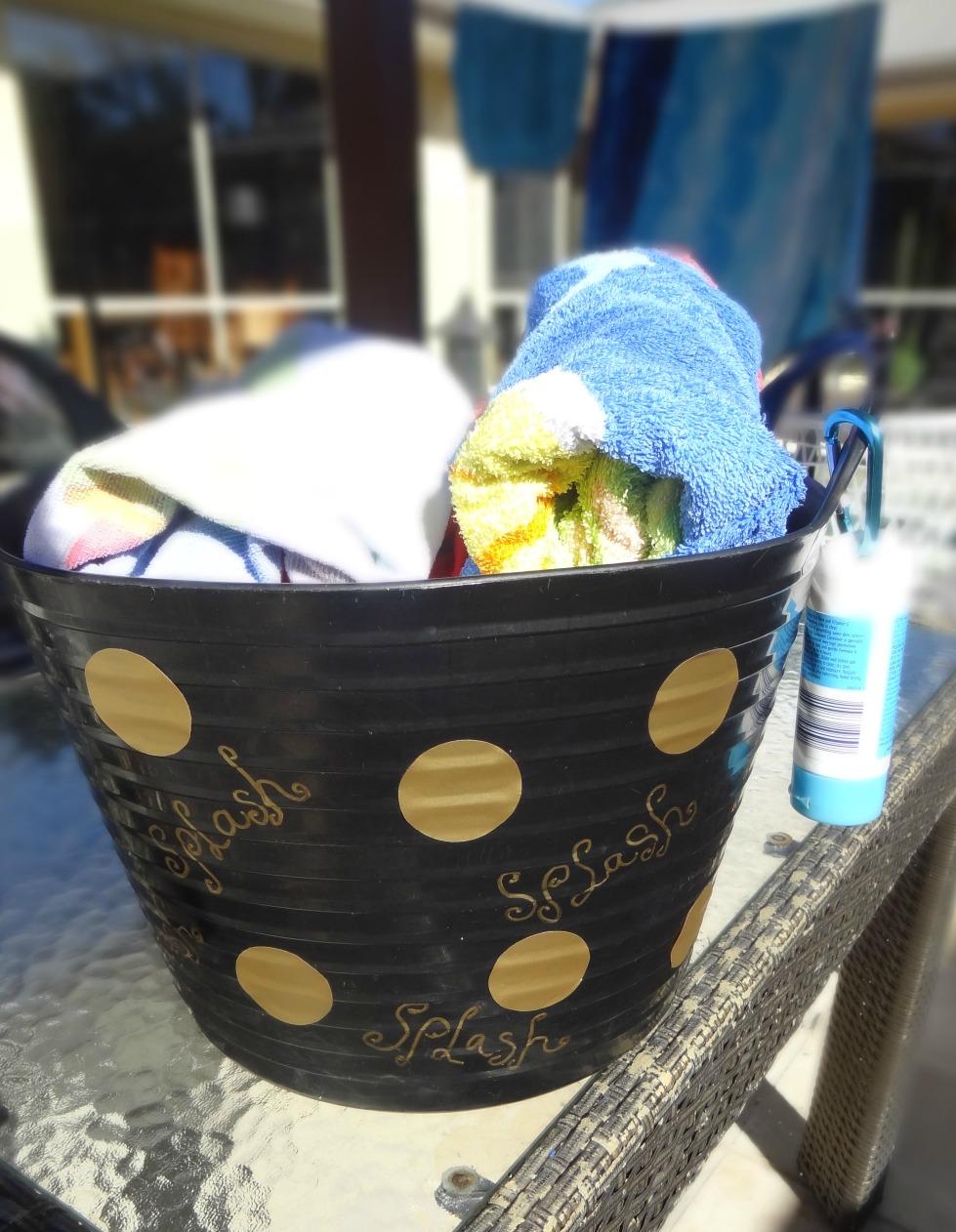 Beach Bucket Makeover