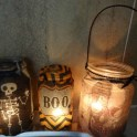 Halloween Napkin Luminaries