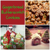 Whip It Up Wednesday-Gingerbread Butterscotch Cookies