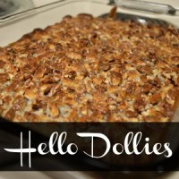 Whip It Up Wednesday-Hello Dollies