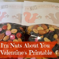 I'm Nuts About You Printable