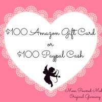 $100 Amazon Gift Card or PayPayl Cash Giveaway