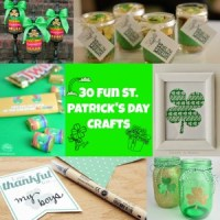 30 Fun St. Patrick's Day Crafts