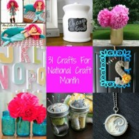 31 Crafts for National Craft Month