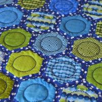 Quilt As You Go Hexagon Quilt