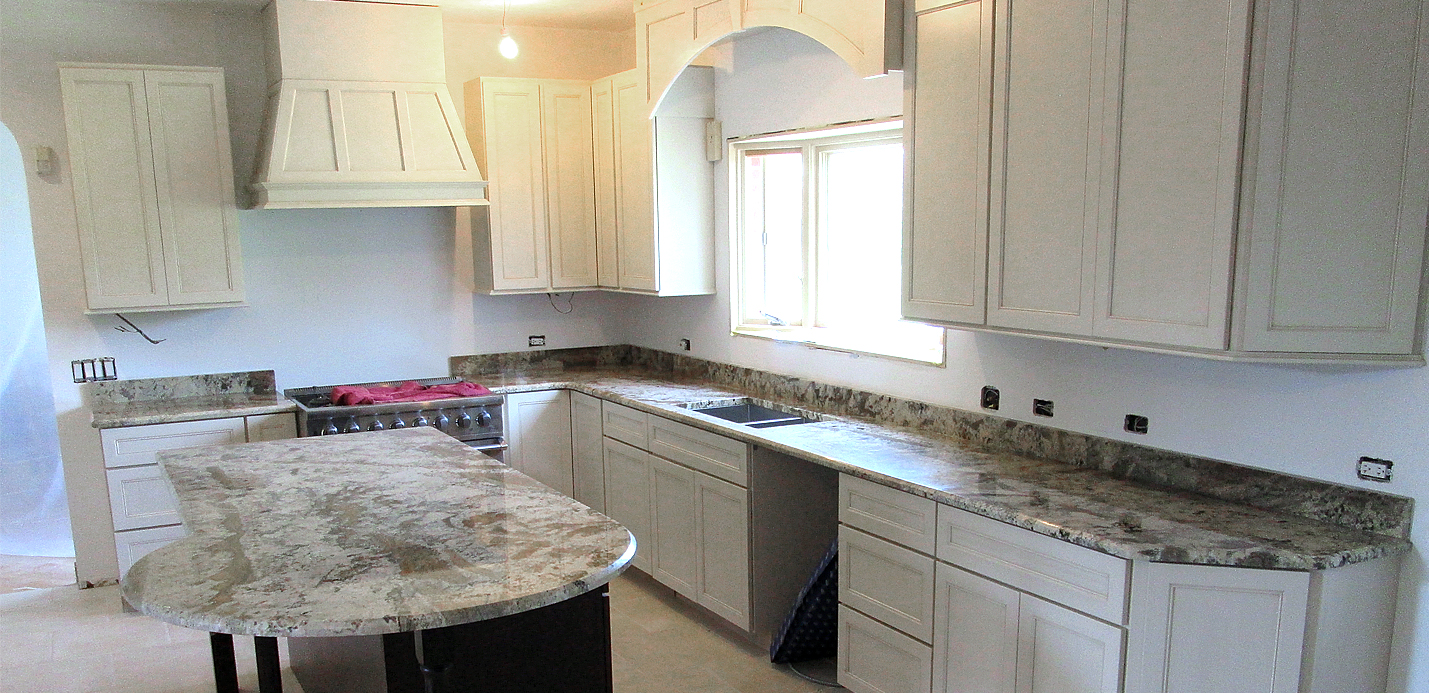 Kitchen Island And Breakfast Bar Crafted Countertops Wisconsin Granite Countertops – Custom