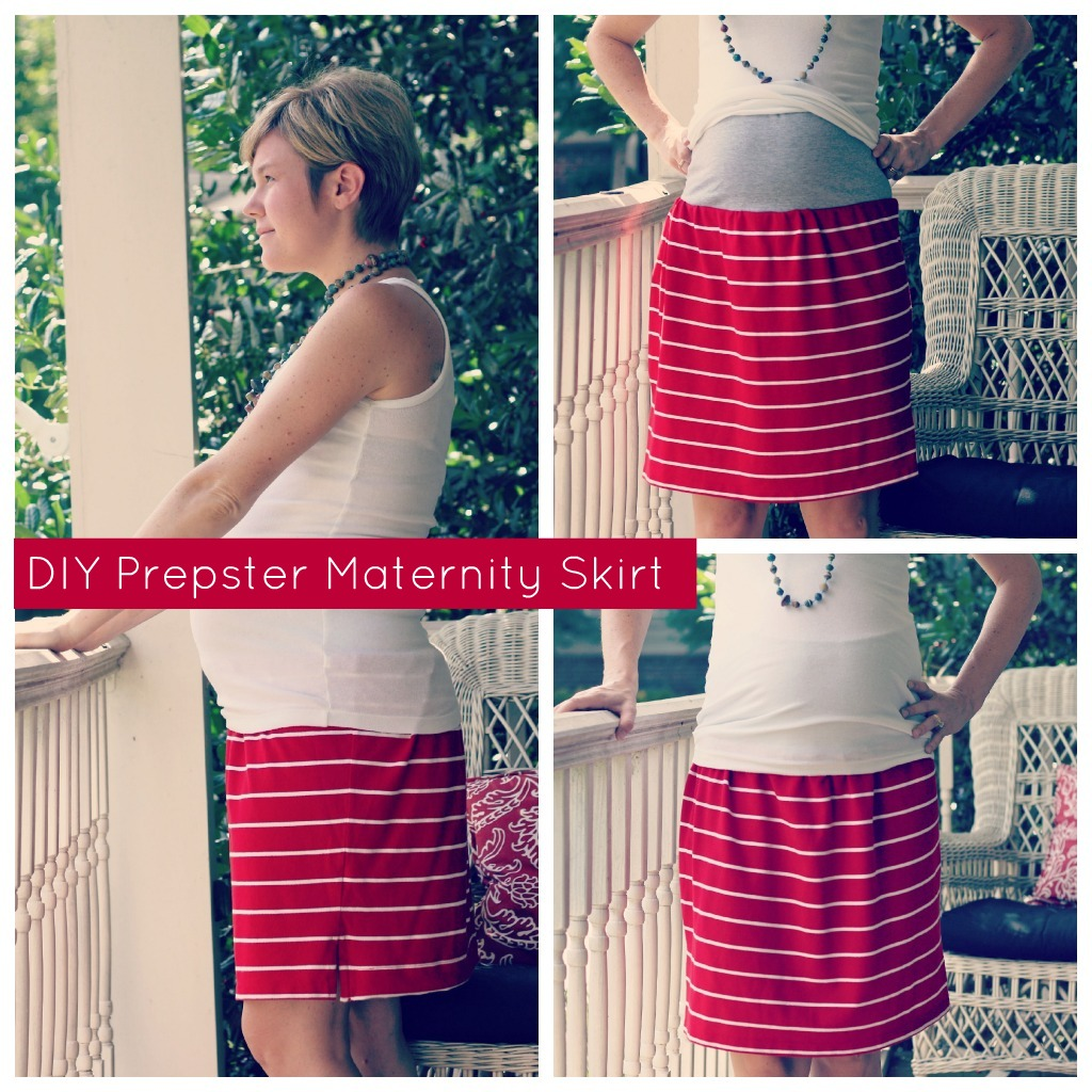 Diy Maternity Clothes Diy Prepster Maternity Skirt A Tutorial By Elisabeth Of