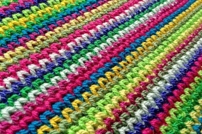 Crochet Waistcoat Stitch Tutorial