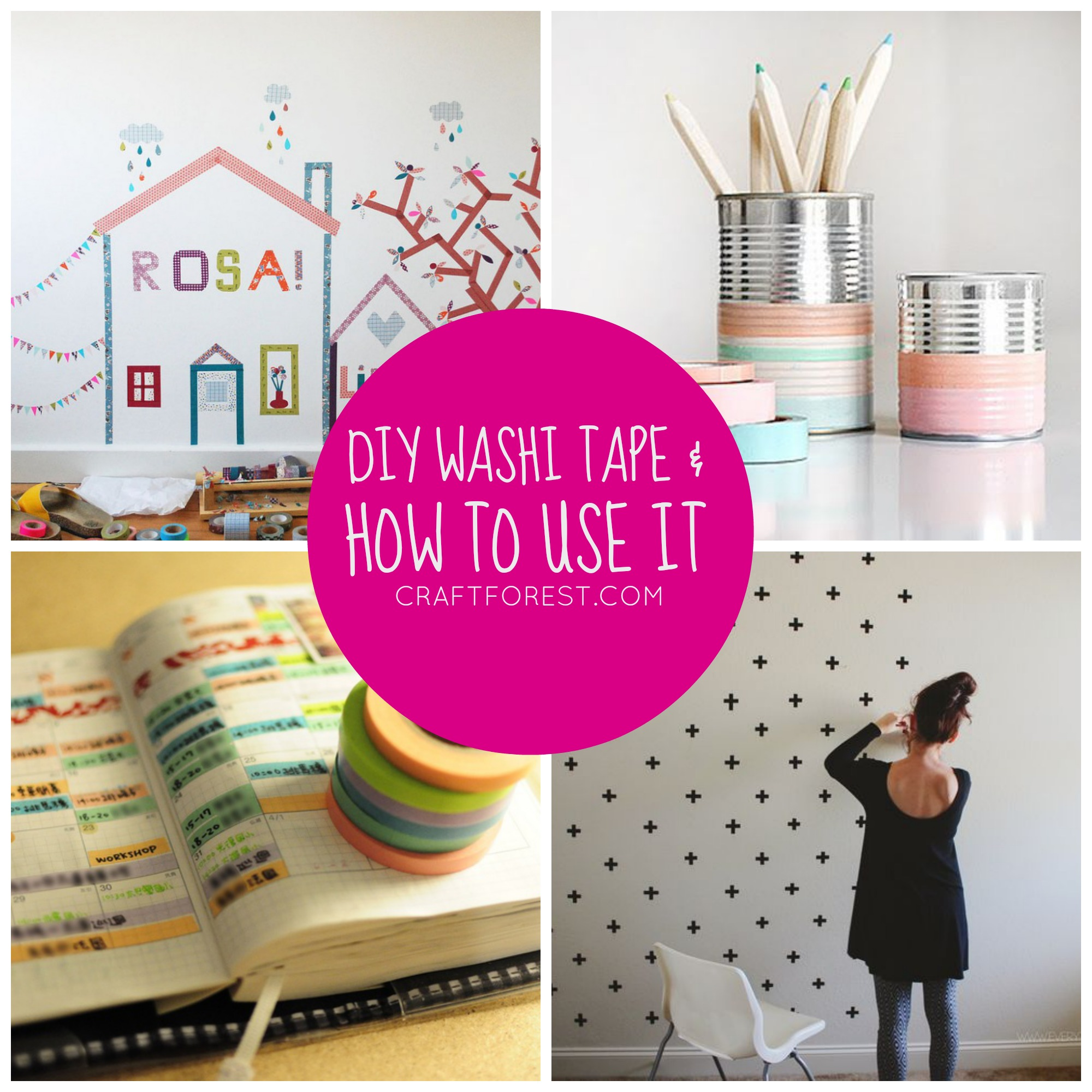 Washi Tape Diy Video Diy Fabric Washi Tape And Craft Projects