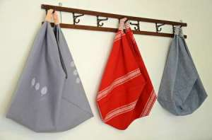 make it local origami bag