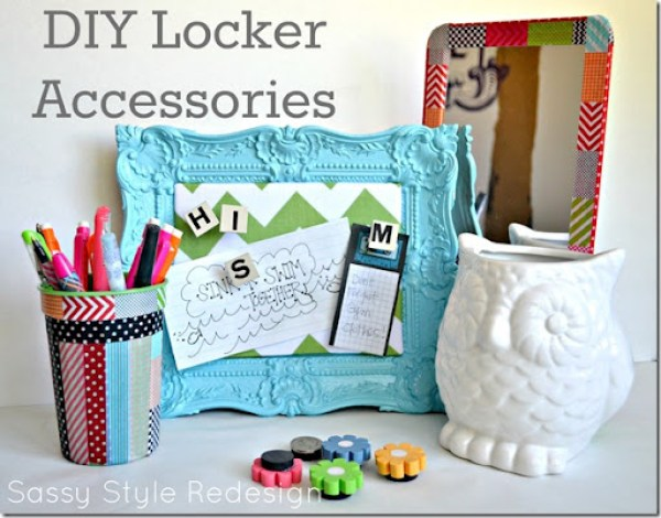 Locker accessories - Sassy Style Redesign