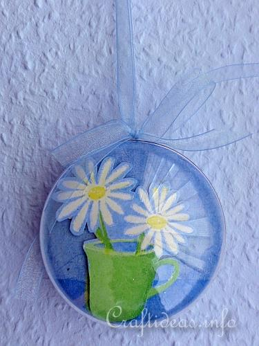 Craft Room Free Spring And Easter Craft Project - 3-d Acrylic Ball