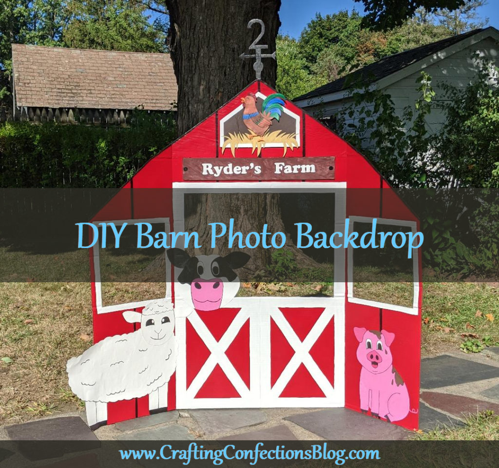 Diy Barn Photo Backdrop Crafting Confections
