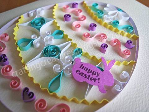 Quilling Easter Egg Patterns Free Easter Crafts To Make