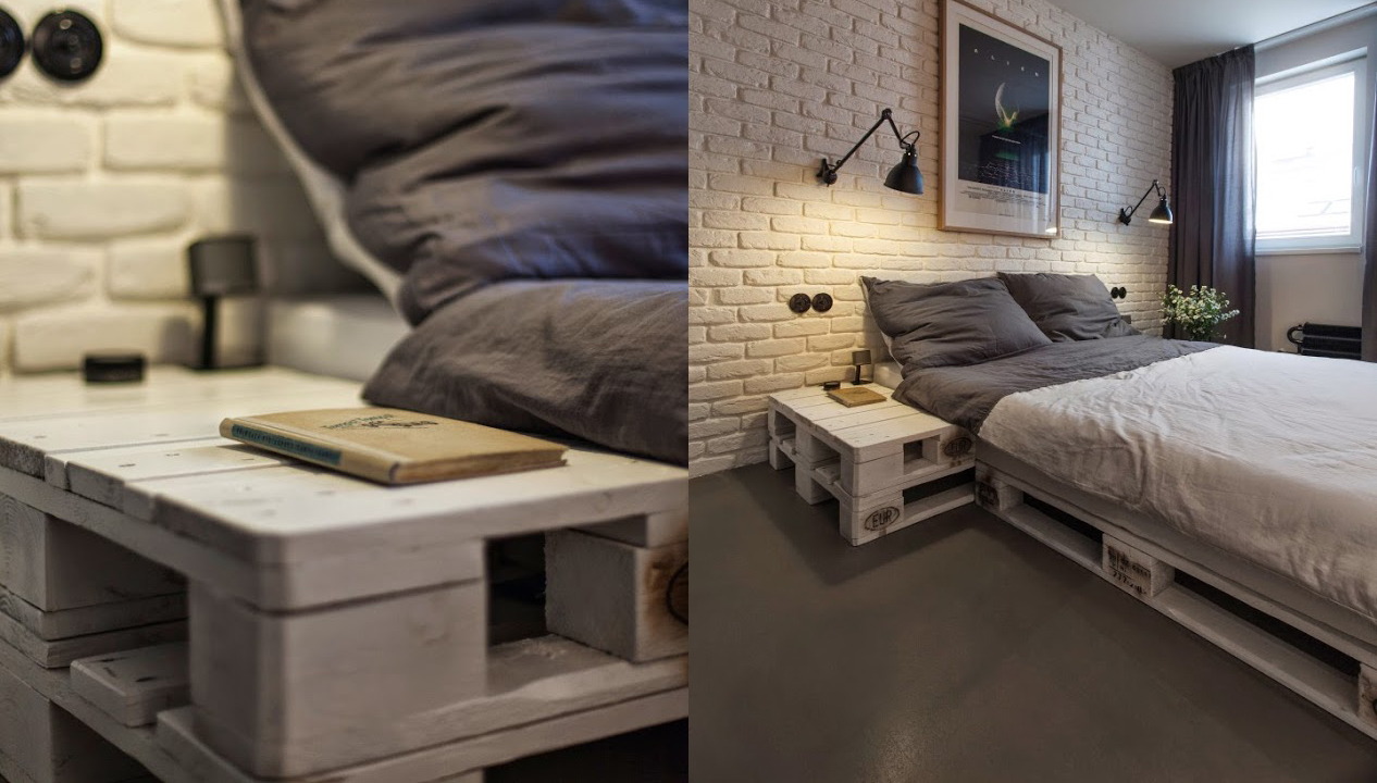 Casa De Muebles Ideas Decoracion: Muebles Con Pallets ~ Craftingeek
