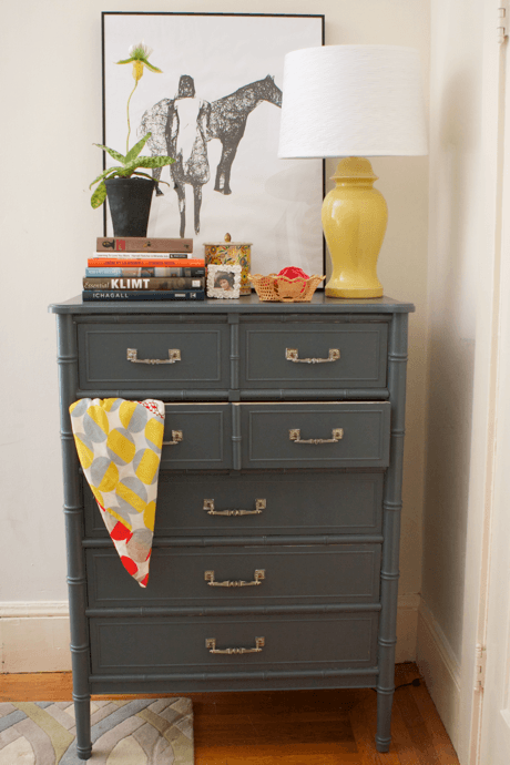 Dark Gray Dresser Craftionary