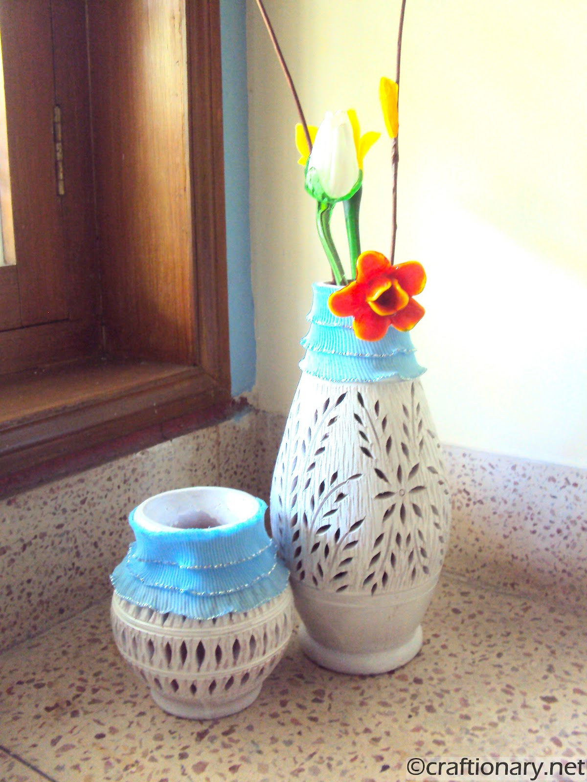How To Make Beautiful Flower Pots At Home Craftionary