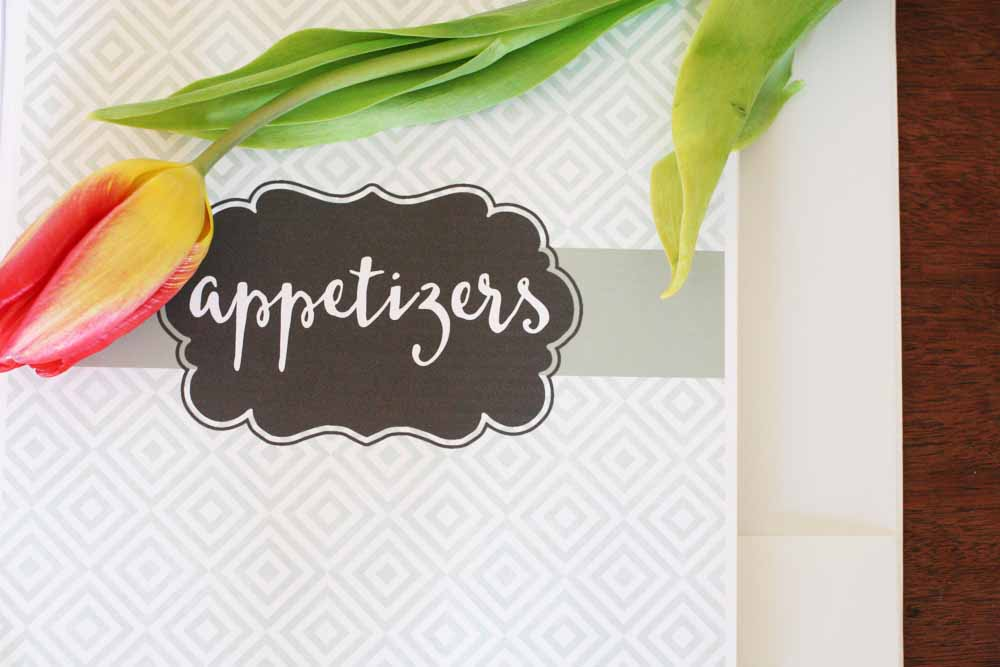 Simple and Quick Recipe Binder with Free Printables \u2013 Craftivity Designs