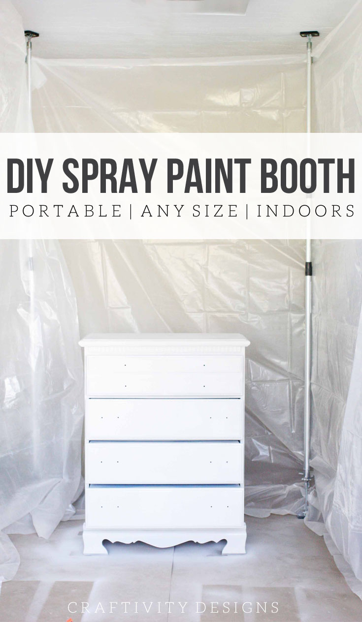 How To Spray Paint Indoors Diy Indoor Spray Paint Booth Craftivity Designs