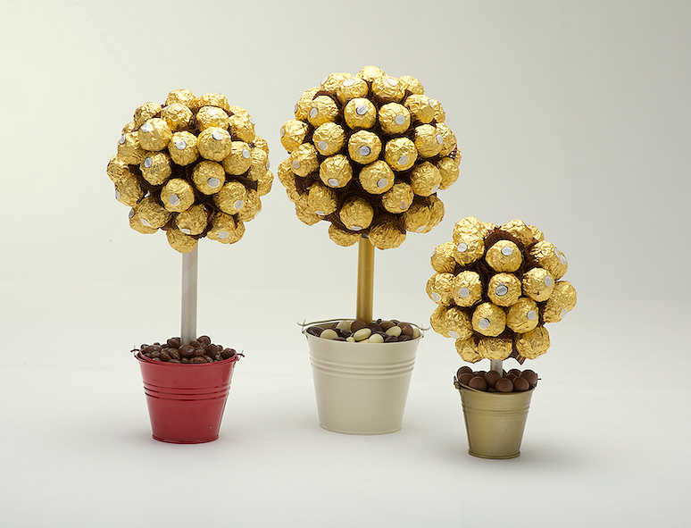Geschenkideen 60 Hochzeitstag How To Make A Sweet Tree Instructions - Sweet Candy Trees