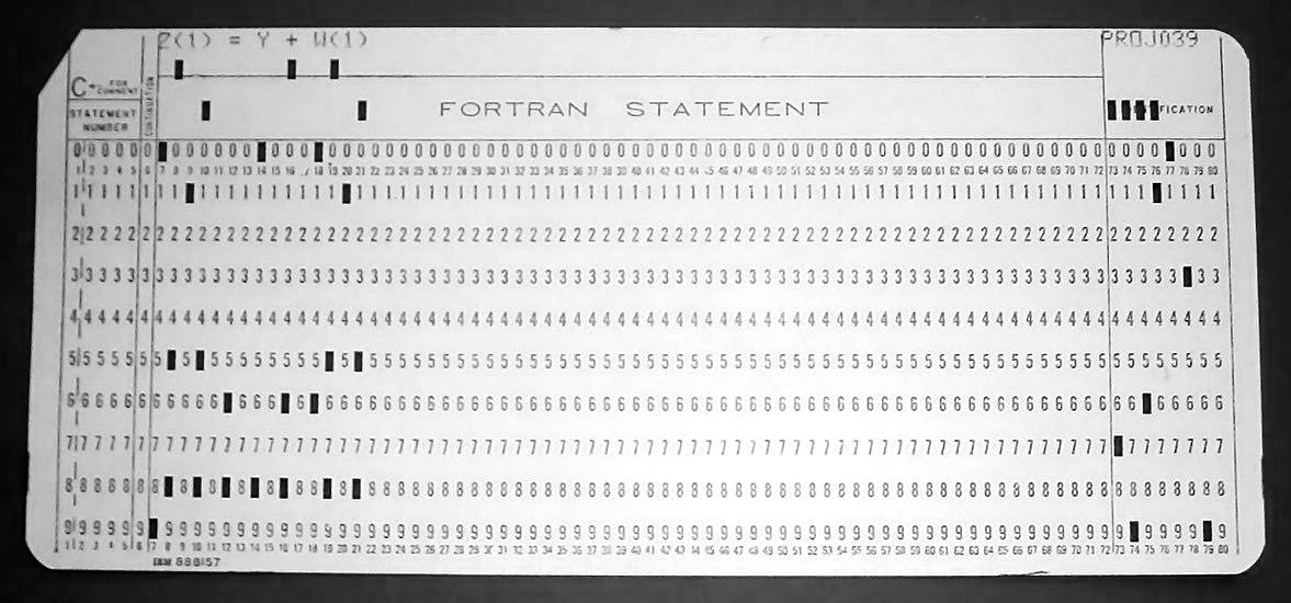 Read your own punch cards \u2013 The Craft of Coding - punch cards