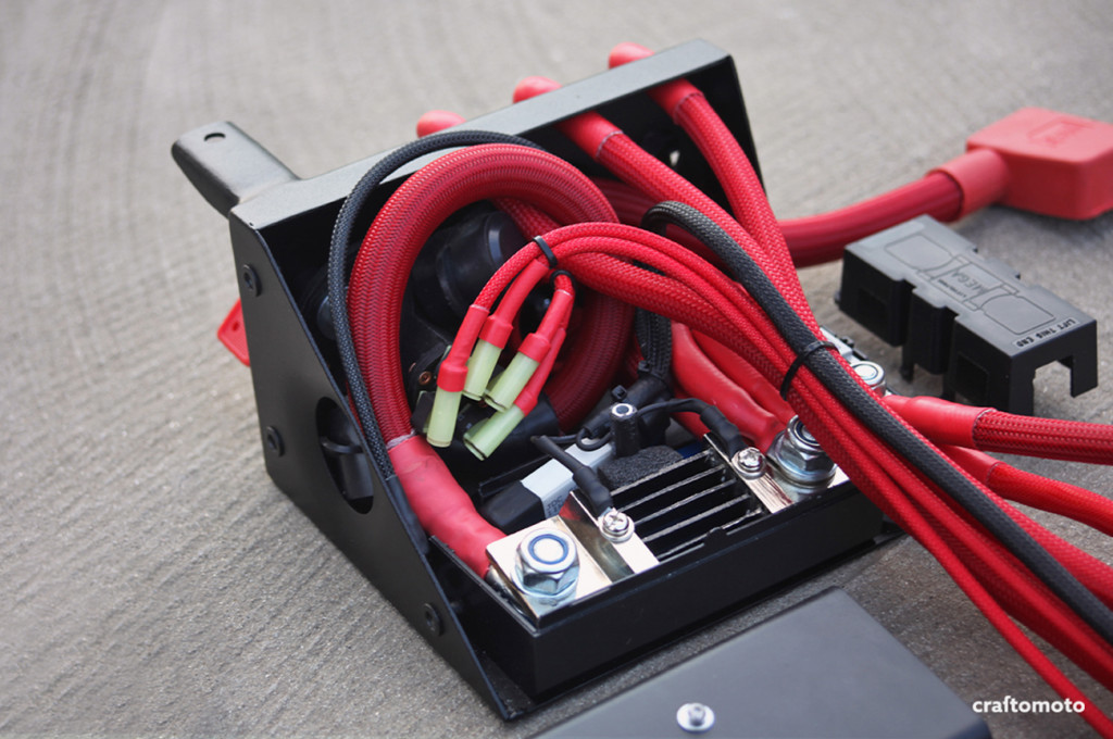 Custom fuse  battery box