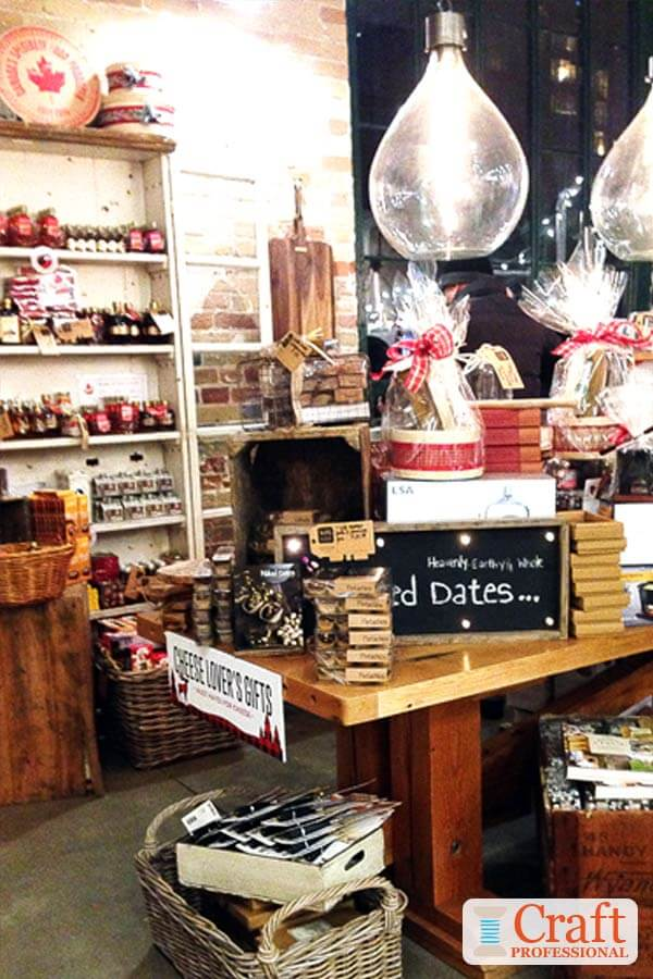 Ikea Red Shelf Food Display Ideas For Craft Shows