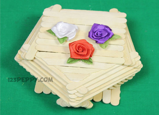 How To Make A Popsicle Stick Box Online 123peppycom