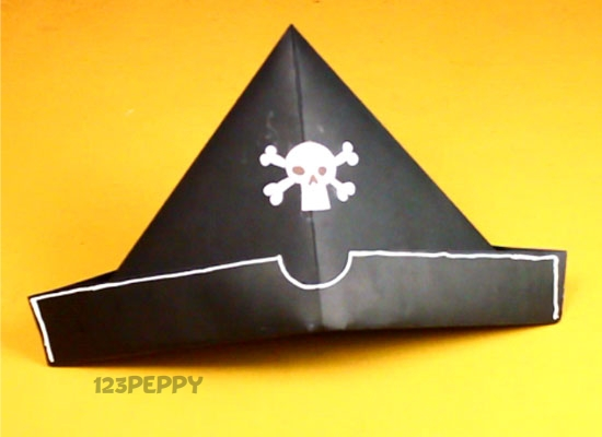 How to make Pirate Hat Online 123Peppy