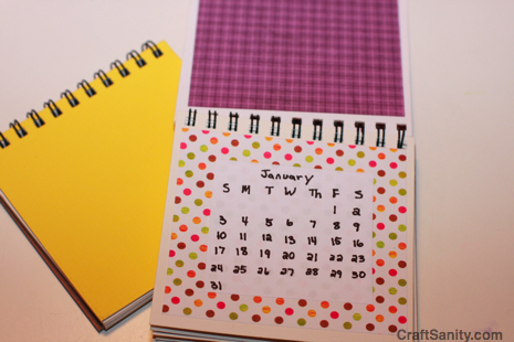 As Seen On TV Easy Handmade Calendar Projects \u2013 CraftSanity \u2013 A