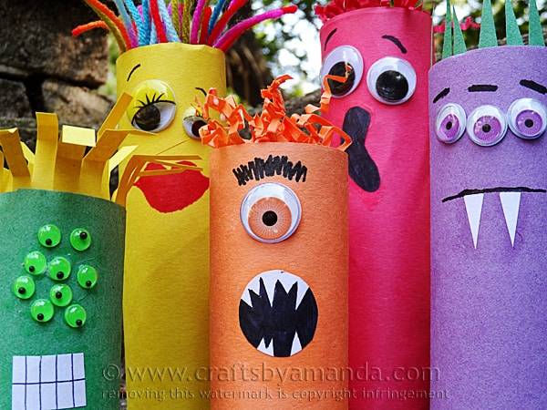 Cute Monster Themed Printables And Crafts Homeschool