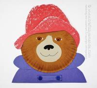 Paper Plate Paddington Bear - Crafts by Amanda