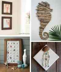 29 Beach Crafts: Coastal DIY Wall Art