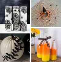40+ DIY Halloween Decorations: homemade Halloween decor ...